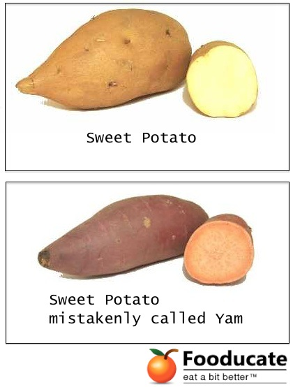 difference between sweet potatoes and yams can you tell the difference between a sweet potato and a 12952
