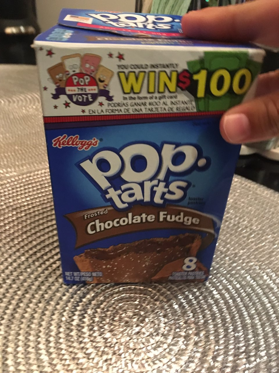 Frosted Chocolate Fudge Pop Tarts Ingredients