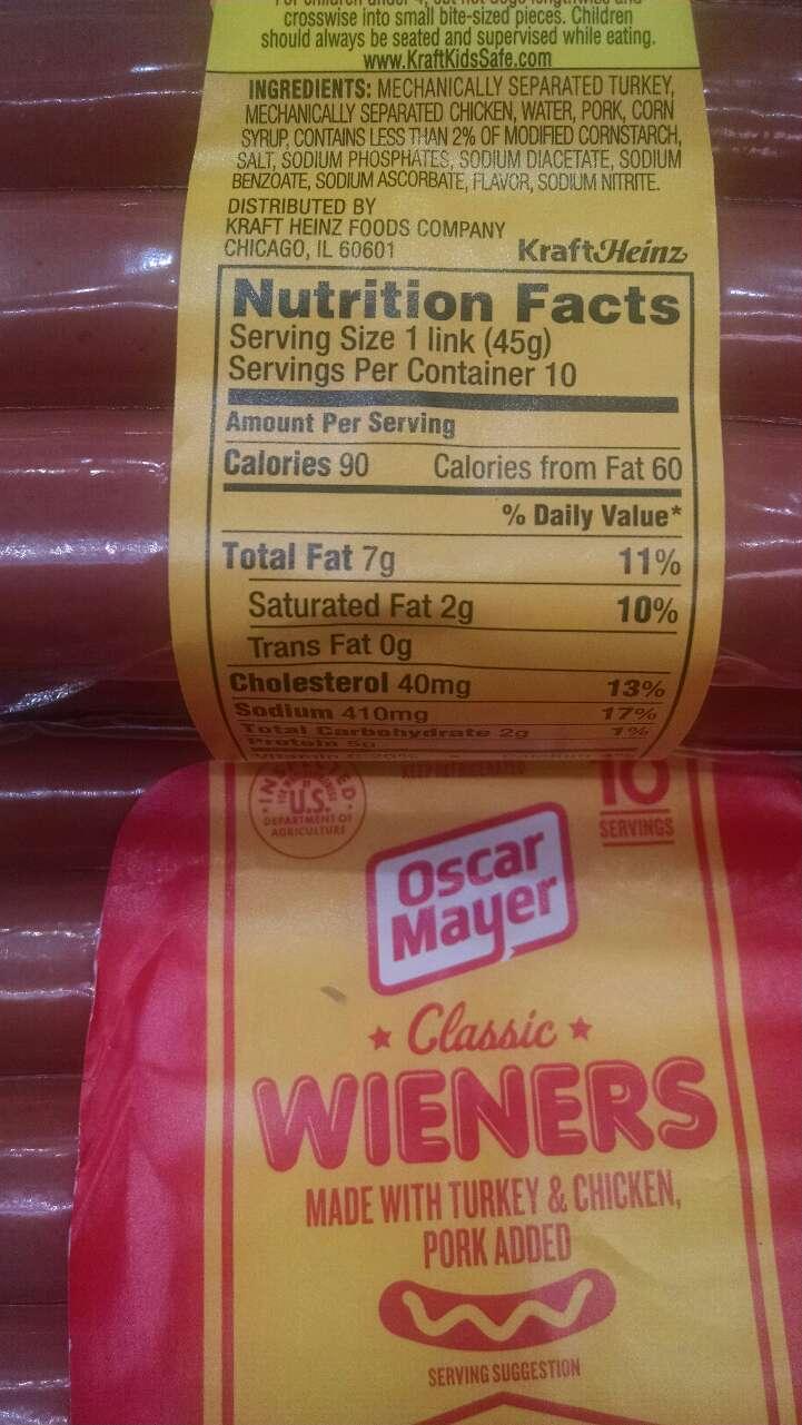 Oscar Mayer Wieners, Classic Uncured