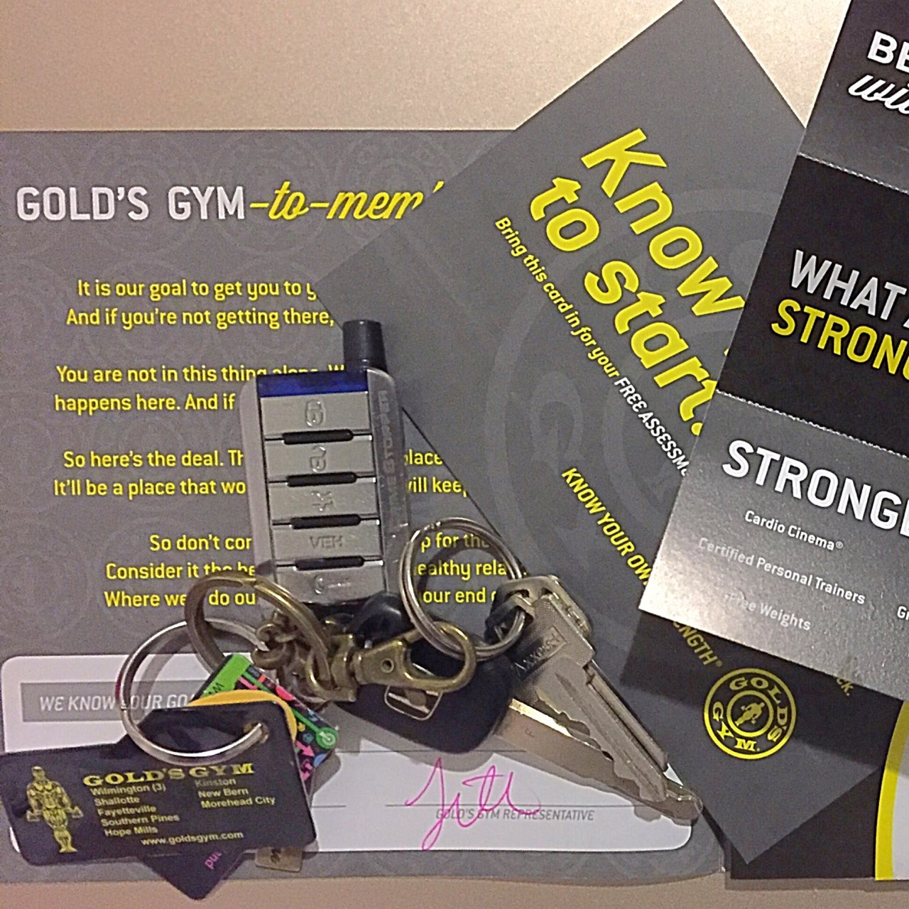 Best Birthday Gift Ever 15 Months Golds Gym Membership Thank You Boyfriend Goldsgym