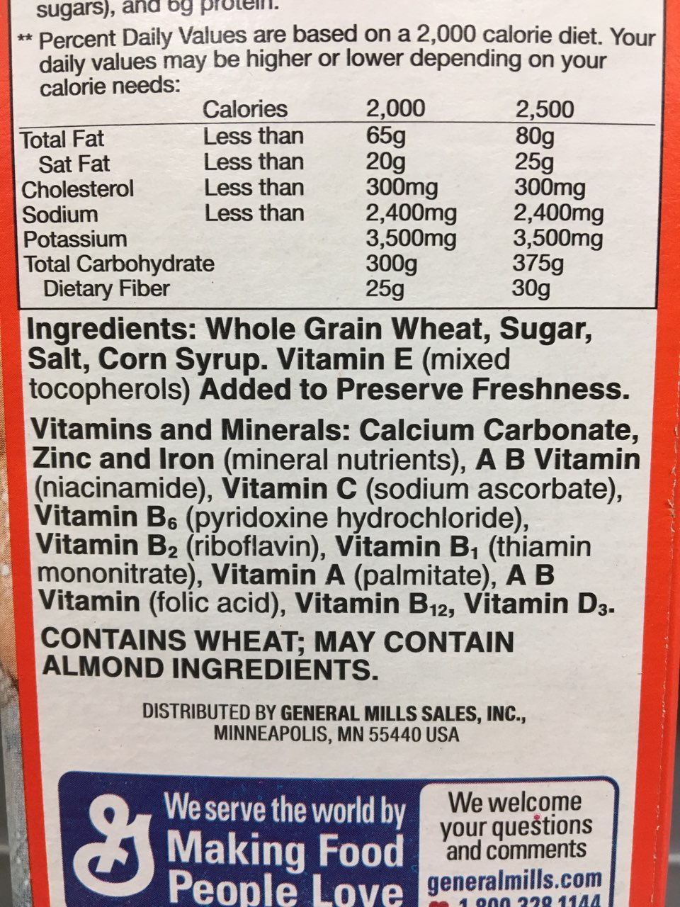 Wheaties Toasted Whole Wheat Flakes