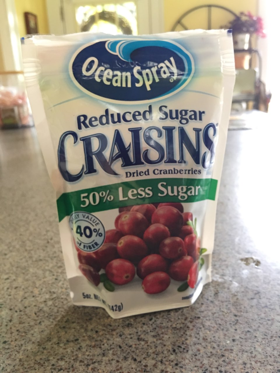 Ocean Spray Craisins, Original, Reduced Sugar: Calories ...