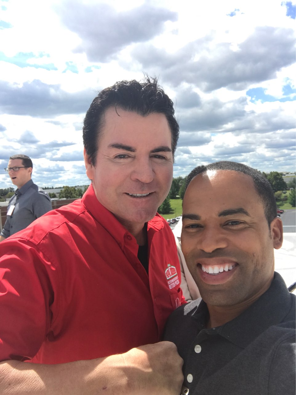 Hanging Out With John Schnatter Aka Papa John  F0 9f 8d 95 On His Helipad He Advised Me Find Out What Everyone Else Is Doing And You Do The Opposite Success Is
