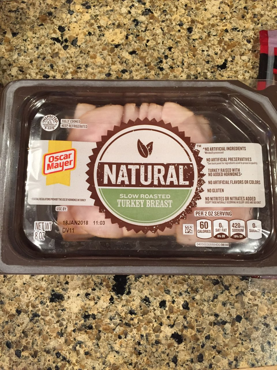 Oscar Mayer Selects Turkey Breast, Slow Roasted: Calories, Nutrition Analysis & More Fooducate