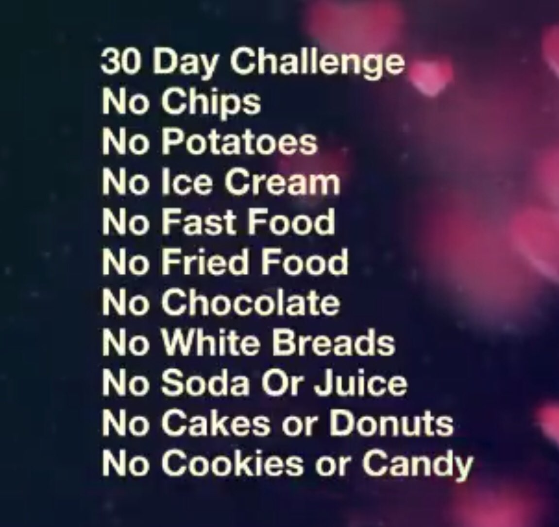 I M Doing This Challenge Except For 60 Days I Also Am Doing No Rice