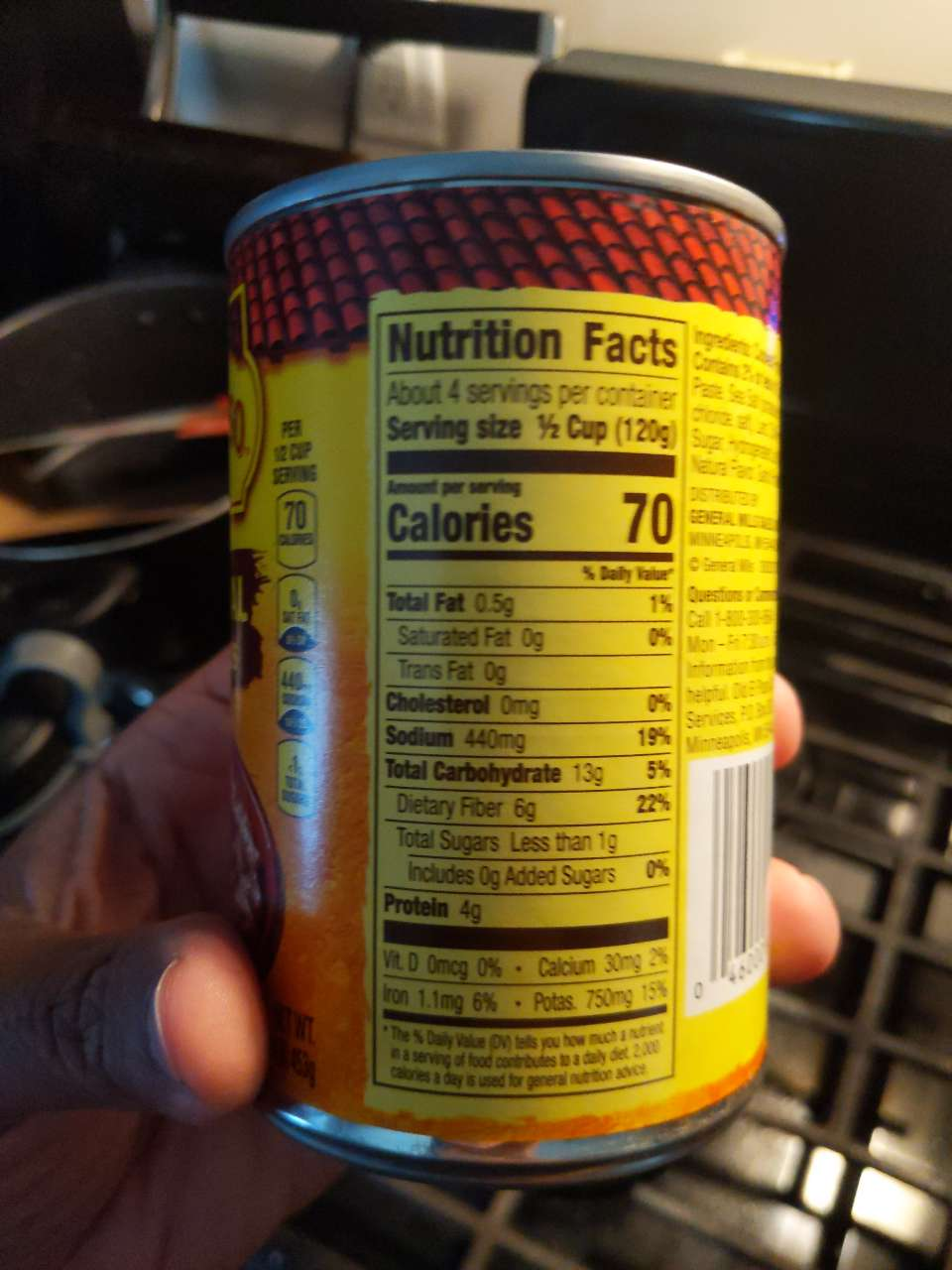 Old El Paso Refried Beans, Traditional: Calories ...
