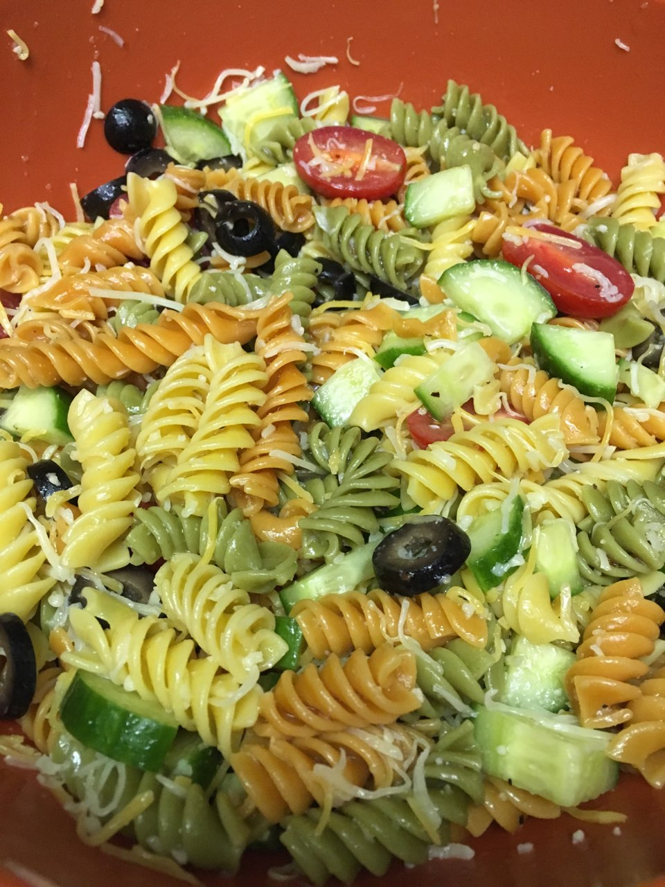 Garden Delight Pasta Salad