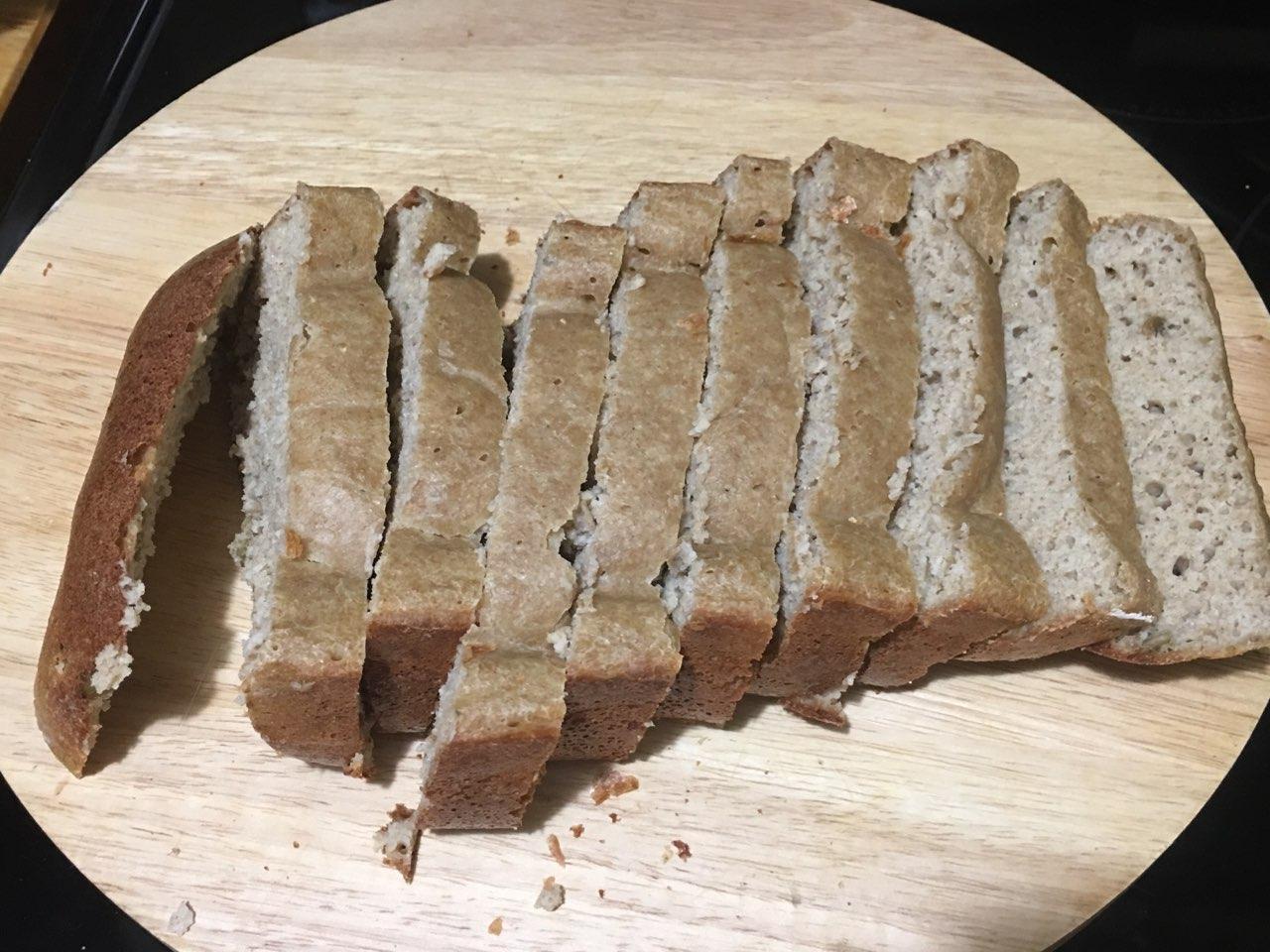 Almond Flour & Whole Wheat Flour Bread (Bread Machine ...