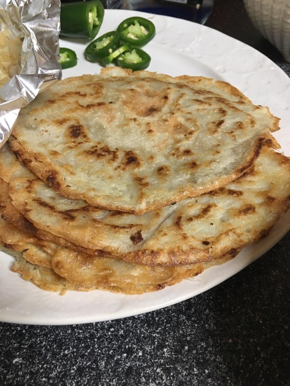 Arrowroot Starch Tortillas
