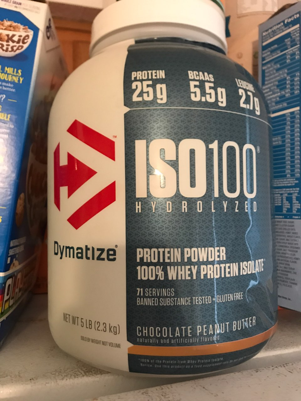 iso 100 protein chocolate peanut butter