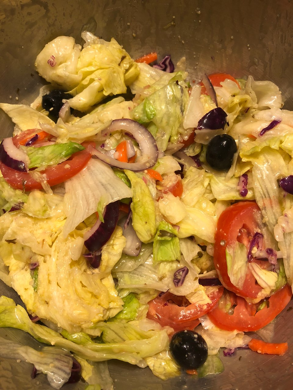 olive garden salad - Olive Garden Salad Calories