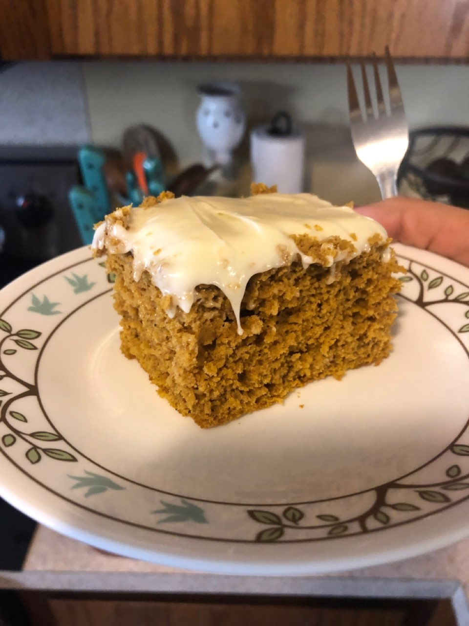 Pumpkin Spice Cake Directions Calories Nutrition More Fooducate