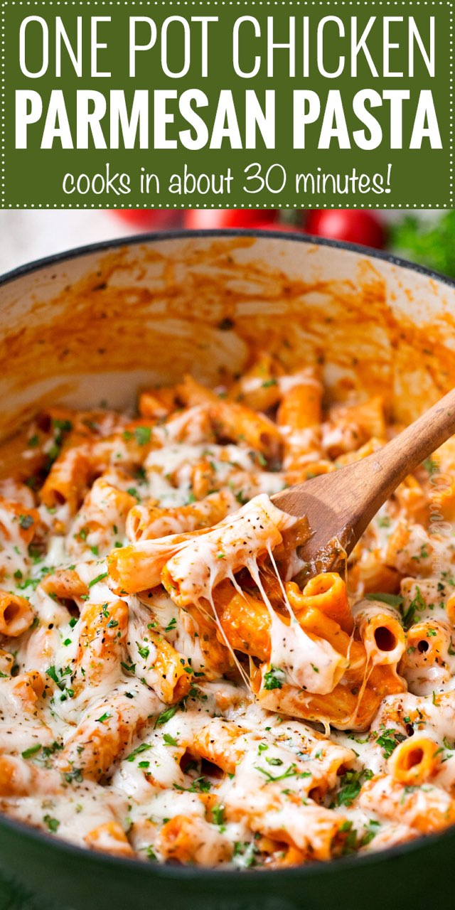 Chicken Parmesan Pasta Directions Calories Nutrition More Fooducate