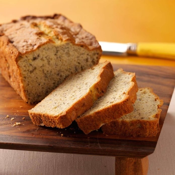 Easy Banana Bread Directions Calories Nutrition More Fooducate