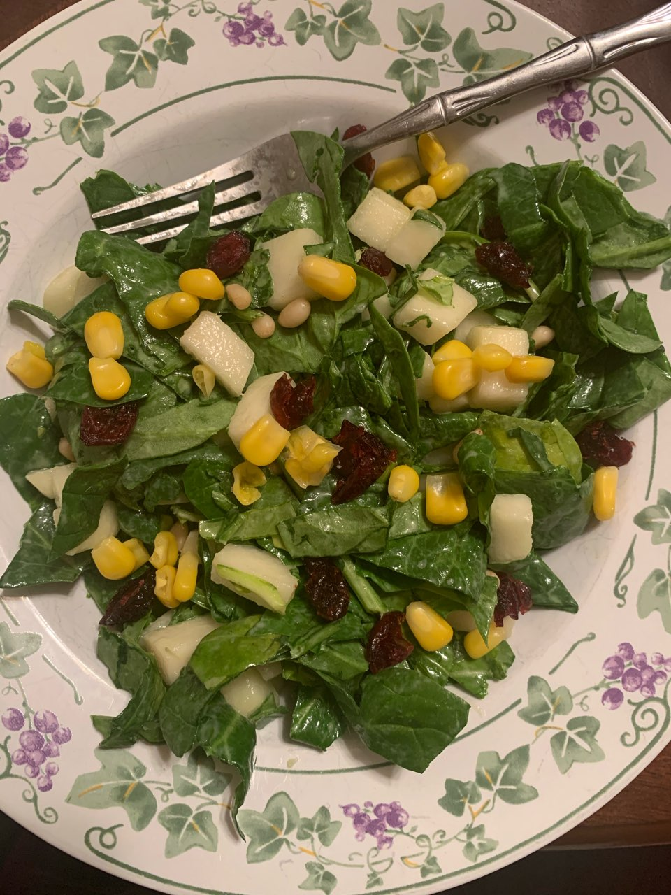 Sesame Spinach Salad Directions Calories Nutrition More Fooducate