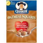 Quaker Oatmeal Squares Cereal,Golden
