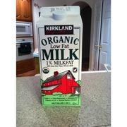 Kirkland Signature Organic Low Fat Milk 1%