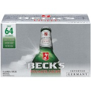 Becku0027S Light Beer,4 6 Pks 12 Oz Premier