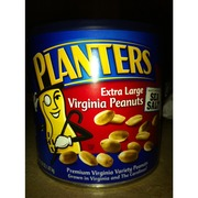 Planters Extra Large Virginia Peanuts Made With Sea Salt Calories