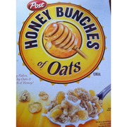 post honey bunches of oats honey roasted calories nutrition
