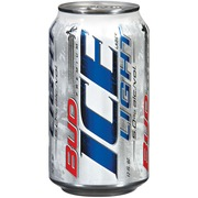 Bud Ice Light Beer,12 Oz