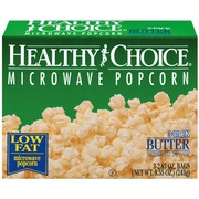 Healthy Choice Microwave Popcorn Er Low Fat 2 85 Oz