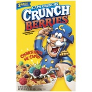 Cap'N Crunch Cereal,Crunch Berries. nutrition grade C