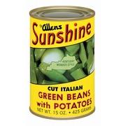 The Allens Sunshine Green Beans,Cut