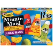 healthy frozen fruit bars recipe minute maid fruit punch