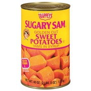 Trappey'S Sweet Potatoes,Sugary Sam Golden Cut Yams In Syrup: Calories, Nutrition Analysis ...