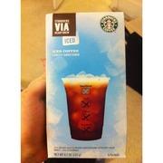 Starbucks Coffee Via Iced Coffee