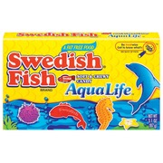 Swedish fish boxes candy original soft chewy aqua life for Swedish fish nutrition