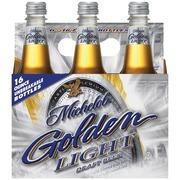 Michelob Golden Draft Light Beer,16 Oz