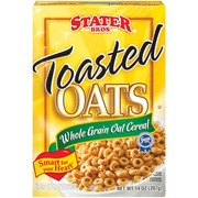 Stater Bros. Cereal,Toasted Oats Whole Grain: Calories, Nutrition ...