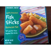 trader joe 39 s fish sticks calories nutrition analysis
