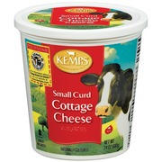 kemps cottage cheese 4 small curd calories nutrition analysis rh fooducate com kemps cottage cheese ingredients kemps cottage cheese with fruit kansas city