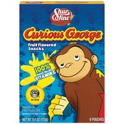 Shurfine Fruit Snacks,Curious George Assorted Fruit 6 Ct ...