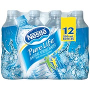 67c2816c99 Nestle Pure Life Natural Spring Water,0.5 L: Calories, Nutrition ...