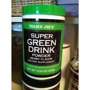 Trader Joe S Super Green Drink Powder Berry Flavor