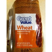 Great Value Wheat Sandwich Bread: Calories, Nutrition Analysis & More | Fooducate