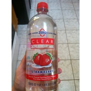Clear American Strawberry Flavored Sparkling Water
