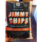 Jimmy Chips BBQ Potato Chips: Calories, Nutrition Analysis & More | Fooducate
