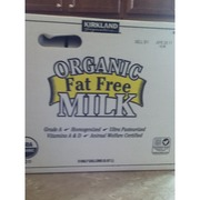 Kirkland Signature Organic Fat Free Milk - Vitamin A & D