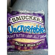 Smucker's Uncrustables, PB & Grape Jelly Sandwich: Calories, Nutrition Analysis & More | Fooducate