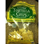 Trader Joe's Salted Tortilla Chips: Calories, Nutrition Analysis & More | Fooducate