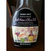 Trader Joe's Organic Red Wine & Olive Oil Vinaigrette: Calories, Nutrition Analysis & More ...