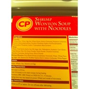 CP Shrimp Wonton Soup with Noodles: Calories, Nutrition Analysis & More | Fooducate