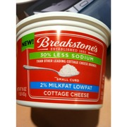 Breakstones 2 Milkfat Lowfat Cottage Cheese