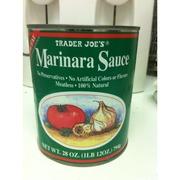 Trader joe 39 s marinara sauce calories nutrition analysis for Trader joe s fish sauce