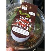 Trader Joe S Super Spinach Salad Calories Nutrition Analysis More Fooducate